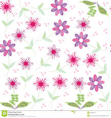 cute flower pattern wallpaper.  Wallpaper Floral Seamless Pattern With Cute Abstract Flower On Cute Flower Pattern Wallpaper O