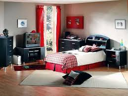 Teens Bedroom Winsome Nature Themed Boys Bedroom Ideas With Dark Brown Finish