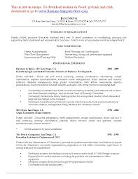 Contract Attorney Resume Sample Non Profit Samples Executive