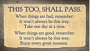This, Too, Shall Pass | ThePreachersWord