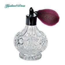 How To Decorate Perfume Bottles Vintage Crystal Perfume Bottle 100ml Spray Atomizer Wine Red Bulb 86