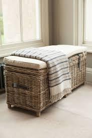 rattan storage bench. Wonderful Storage Rattan Storage Bench In Willow Lifestyle