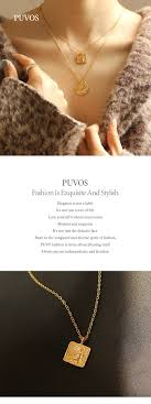 <b>PUVOS Hot Style Necklace</b> Square Pendant Baroque French Retro ...