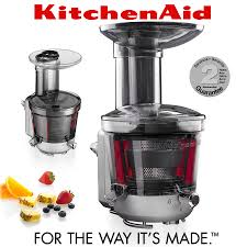 kitchenaid juicer and sauce attachment. kitchenaid - extraction slow juicer \u0026 sauce attachment kitchenaid and c