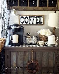 rustic office decor. 25 diy coffee bar ideas for your home stunning pictures rustic office decor t