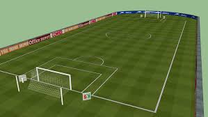 Football field   3D Warehouse