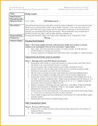 standard operating procedures template word admin sop template