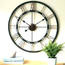 inch wall clock outdoor clocks 24