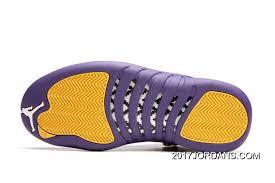 J12 Shoe Size Chart Jordan 12a J12 36 40 Purple Yellow 2017 Women Top Deals