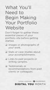 best ideas about personal portfolio web what to include on your personal portfolio website click for an easy to