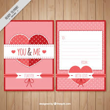 Love Letter Free Download Romantic Love Letter Template Vector Free Download