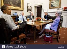Obama And Cabinet President Barack Obama Has Lunch With Cabinet Secretaries In The