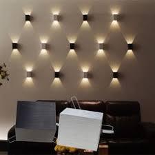 modern bedroom lighting design. 3w led square wall lamp hall porch walkway bedroom livingroom home fixture light modern lighting design s