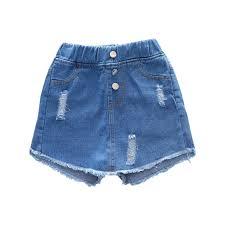 Amazon Com Fashion Teen Girls Little Lass Short Denim Skirt