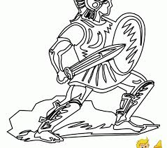 Roman Soldier Coloring Page Kids Coloring Europe Roman Soldier