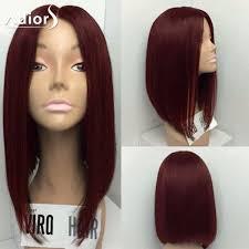 Adiors <b>Medium Center Parting</b> Straight Bob <b>Synthetic</b> Wig