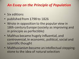 malthusian population theory ppt video online an essay on the principle of population