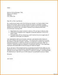 Brilliant Restaurant Manager Cover Letter Sample Also Cover Letter
