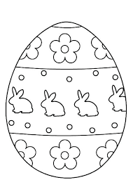 Easter Egg Printable Coloring Pages Coloring Pages Egg Lesson Kids