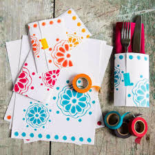 cool things to make with leftover wrapping paper paper napkin pockets easy crafts
