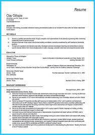 Resume For Assistant Principal Resume For Your Job Application