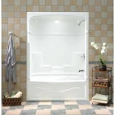 3 piece tub shower unit inch 3 piece acrylic tub and shower one home decor us 3 piece tub shower unit