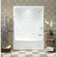 3 piece tub shower unit inch 3 piece acrylic tub and shower one home decor us 3 piece tub shower unit