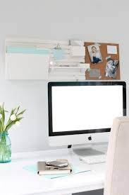 home office white desk. An Organized And Inspired Office Using The Martha Stewart Wall System Home White Desk