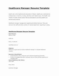Healthcare Resume Objective Examples Bcbbbee7b3c6 Anyett