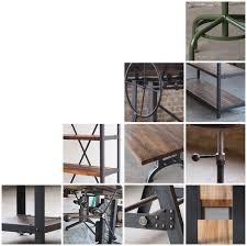 industrial iron furniture. campos iron works modern industrial furniture u