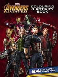 Avengers Infinity War Colouring Activity Book 9781742994963