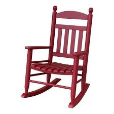 wooden rocking chair. youth slat red wood outdoor patio rocking chair wooden
