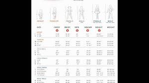 Disguise Size Chart Disguise Costume Size Chart Youtube