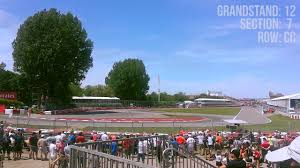 Canadian Grand Prix Grandstand 12 Seating Chart Montreal F1 Gp Grandstand 12 Section 7 Youtube