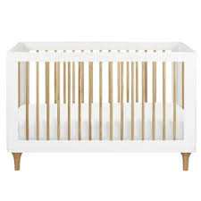 Nursery Works Novella Convertible Crib in Stained Ash and Iv