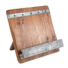 Reclaimed Wood Projects Reclaimed Wood Cookbook Stand Cookbook Holder And Woods