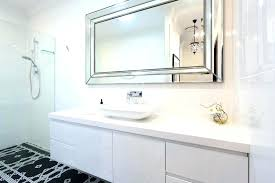 bathroom mirror mounting brackets. How To Hang A Large Frameless Mirror Wall Mirrors Mounting Brackets Rectangular . Bathroom