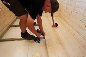 Trockenestrich ist zum fußboden sanieren im altbau das effektivste material für heimwerker, weil er sich leicht, schnell und ohne aushärten verlegen lässt. Gartenhaus Isolieren So Dammen Sie Fassade Dach Boden