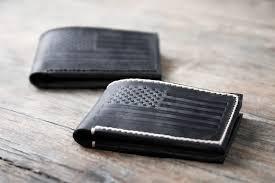 american flag bifold wallet
