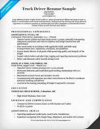 Cdl Owner Operator Sample Resume Fascinating Warehouse Driver Resume Sample Impressive Download Owner Operator