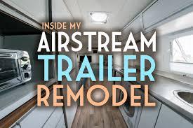 Airstream Interior Design Impressive Inspiration Ideas
