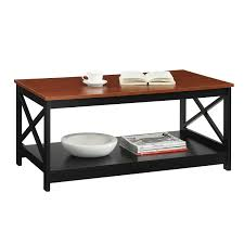 convenience concepts oxford cherry coffee table on