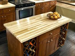 kitchen small kitchen island with butcher block and wine how to make butchers block countertop custom