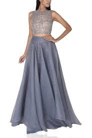 Skirt N Top Designs Crop Top And Skirt Set Nikita Mhaisalkar Designers