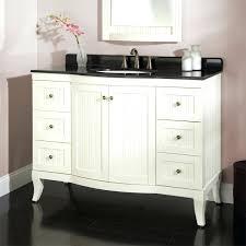 Handicap Bathroom Vanities Bathroom Wyndenhall Salem White 2 Door 48 Inch Bath Vanity Set