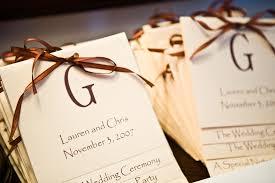 Diy Wedding Programs Brittany Barhams Blog