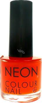 Dor Neon Colour Nail Lak Na Umělé Nehty N3 Neonová Oranžová 9 Ml