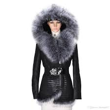 2019 2018 winter women faux fur leather fur coat warmer excellent quality thick fur jacket woman parkas plus size leather tunic clothing from fleming627