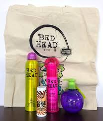 tigi bed head gift set 4 s free canvas bag small talk after