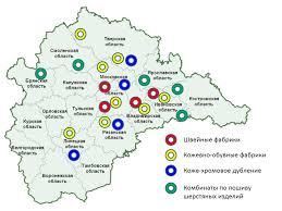 Дипломная работа по географии Текстильная промышленность России  hello html m5ab2dd95 jpg